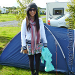 Camping Outfit and Abergavenny Food Festival
