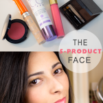 The 5 Product Face Makeup Challenge