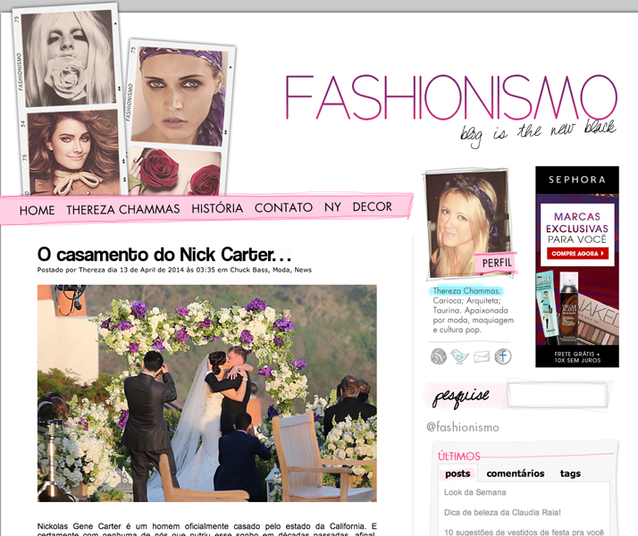Top 10 Blogs Beauty, Fashion & Lifestyle Fashionismo