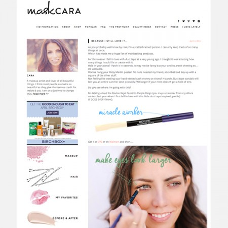 Top 10 Beauty, Fashion & Lifestyle Blogs Maskcara