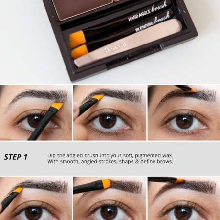 Benefit Brow Zings Brow Shaping Kit Tutorial How To