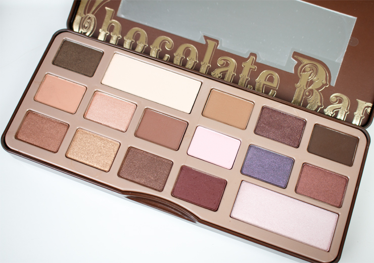 Too Faced Chocolate Bar Palette Review, Swatches & Tutorial