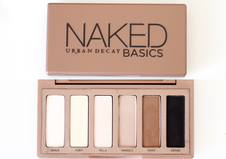 Urban Decay Naked Palette 1 2 3 Basics Comparison Overview