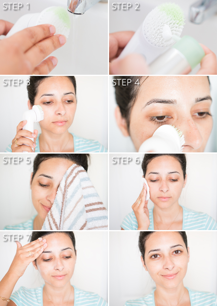 Facial steps video