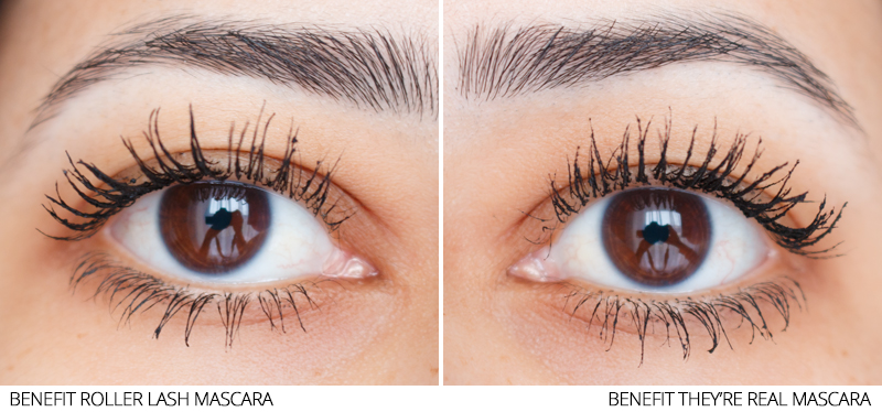 b31b79652b6 Benefit Roller Lash Mascara vs Benefit They're Real Mascara