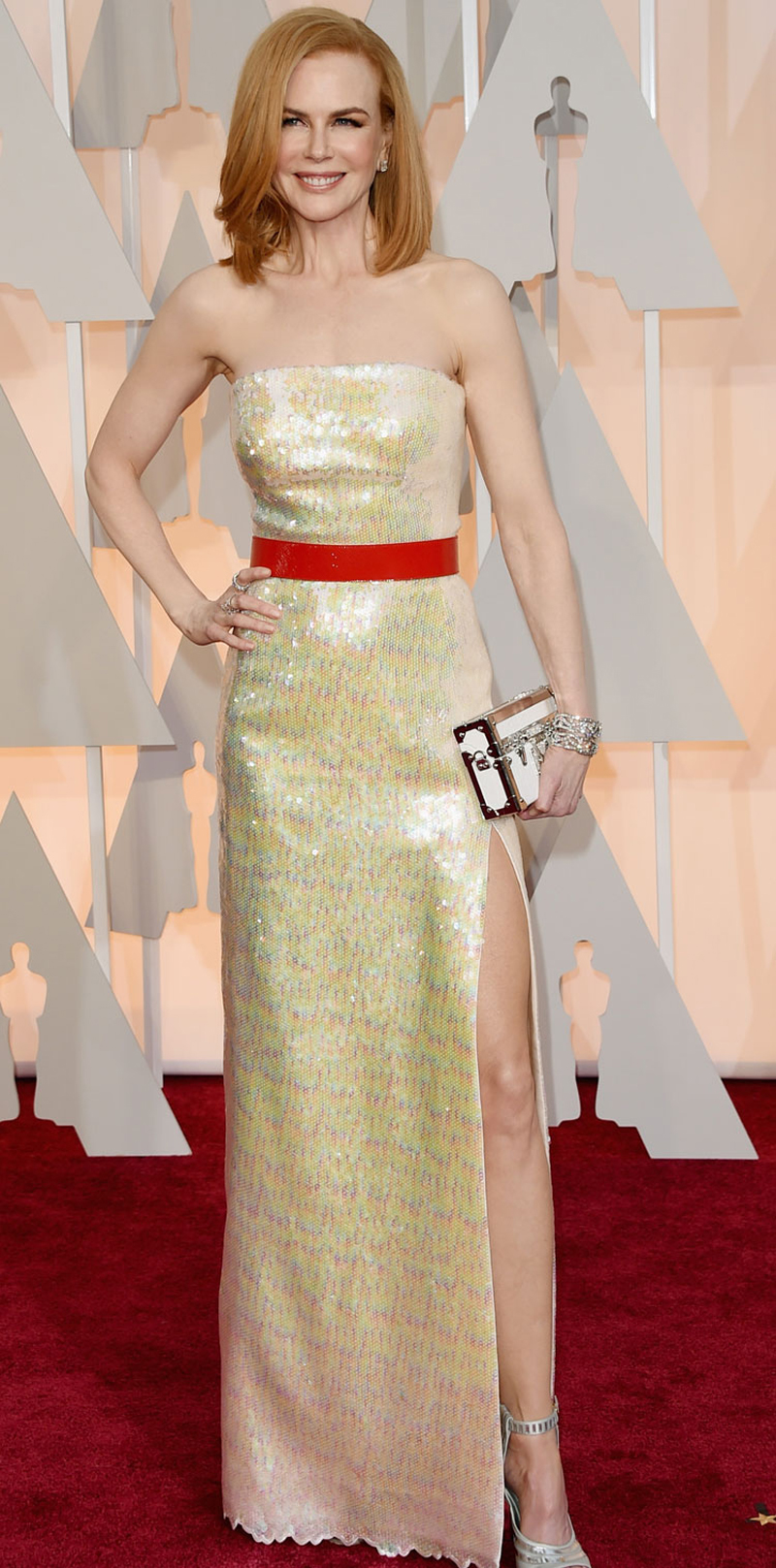 Nicole Kidman Oscars Red Carpet 2015
