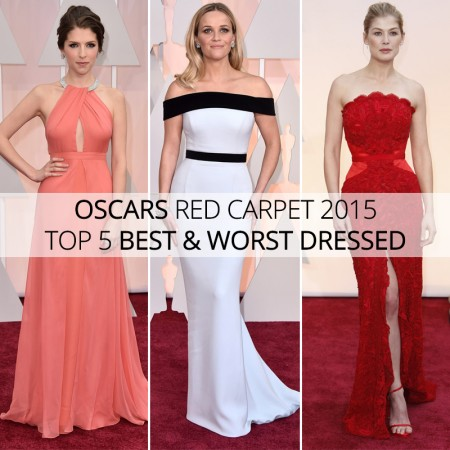 Oscars Red Carpet 2015 Top 5 Best and Worst Dressed