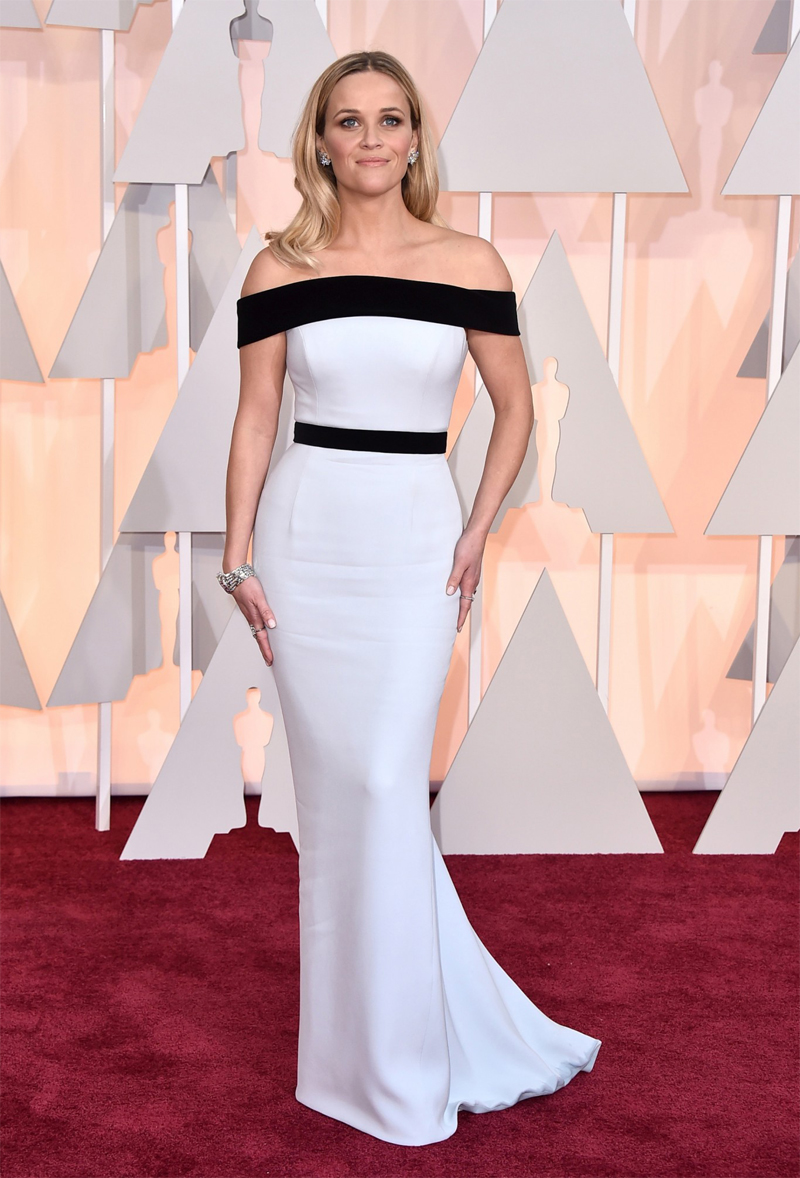 Reese Witherspoon Oscars Red Carpet 2015