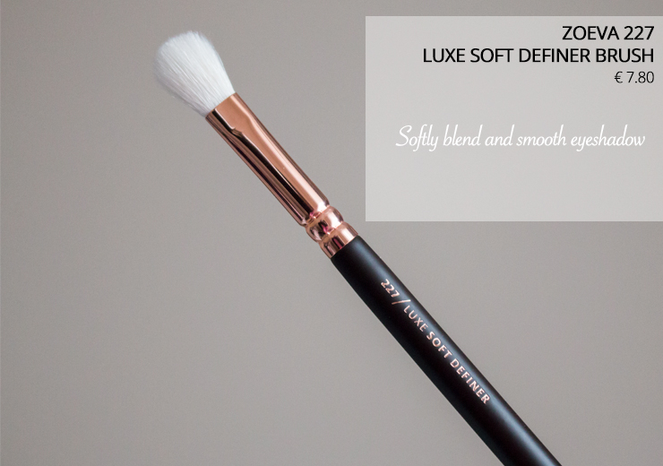 Zoeva 227 Luxe Soft Definer Brush