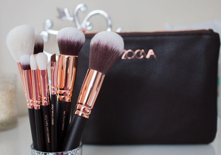 Zoeva Rose Gold Brushes - Rose Golden Luxury Set