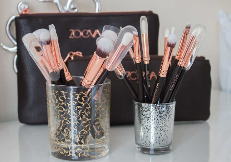 Zoeva Rose Gold Brushes - Rose Golden Luxury & Complete Eye Sets